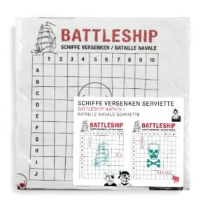 Regalo Tovaglioli divertenti – Battaglia navale