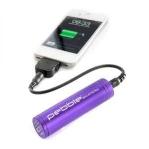 Idea regalo Veho Pebble – Batteria d'Emergenza Per Apparecchi Portatili – viola
