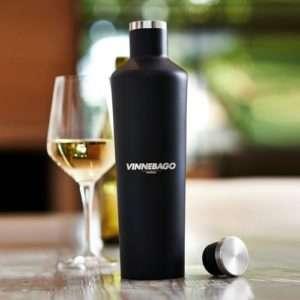 Idea regalo Vinnebago – bottiglia termica in acciaio inox a 37 €