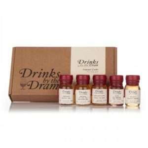 Idea regalo Whisky Ricercati  set da 5 campioni a 39 €