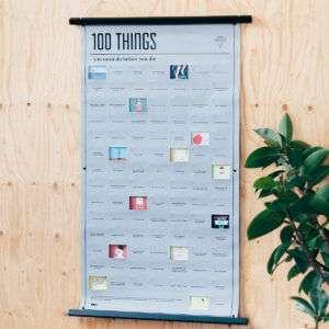 Idea regalo Poster 100 Cose da Fare nella Vita