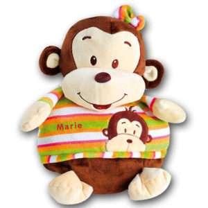 Idea regalo Cuscino-Copertina Scimmia personalizzato