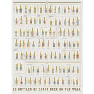 Idea regalo Poster grattabile 99 birre artigianali
