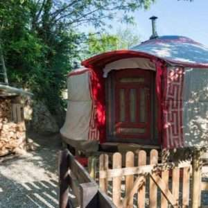 Idea regalo Addio al nubilato in yurta: notte con cena e massaggio – Torino