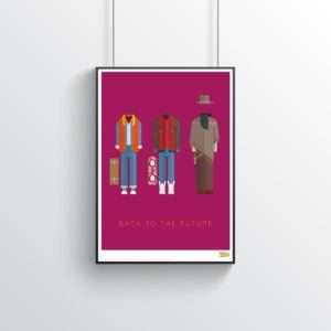 Regalo Poster Costumi di Ritorno Al Futuro