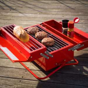 Regalo Cassetta degli attrezzi Barbecue Portatile