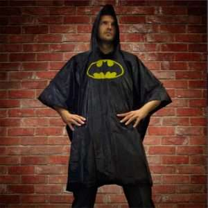 Idea regalo Poncho da Pioggia Batman