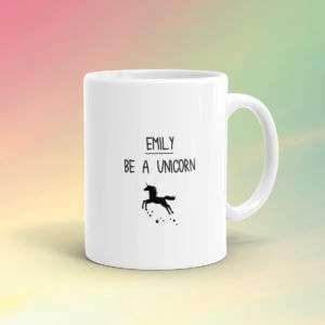 Regalo Tazza Personalizzata Unicorno