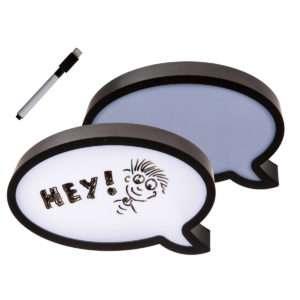 Idea regalo Fumetto illuminato in plastica con pennarello