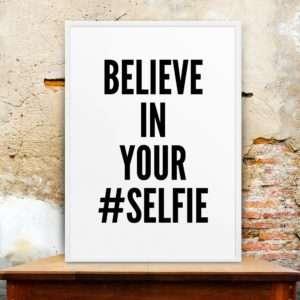 Regalo Selfie Poster di MottosPrint