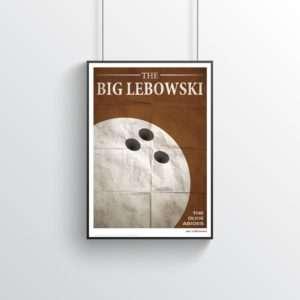 Idea regalo Il Grande Lebowski (The Big Lebowski)  Poster citazioni cinematografiche