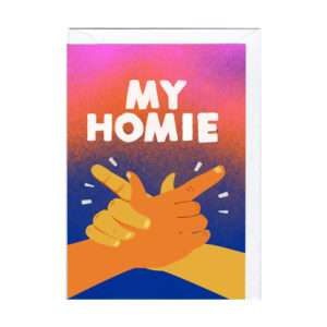 Idea regalo Biglietto My Homie