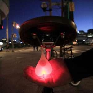 Idea regalo Bike Balls  luce posteriore bici
