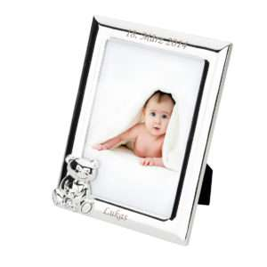 Idea regalo Cornice Orsetto personalizzabile con incisione