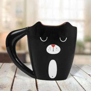 Idea regalo Tazza Black Cat