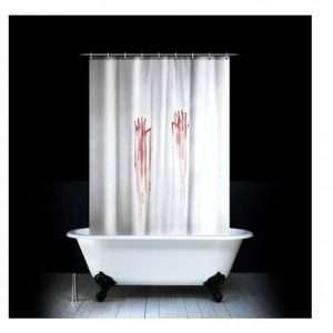 Idea regalo Tenda per doccia Bagno di sangue