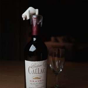 Regalo Tappo Stopper per Bottiglie Orso Polare
