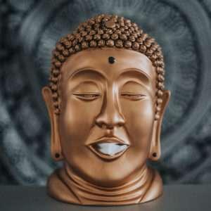 Idea regalo Distributore di fazzoletti Buddha