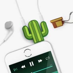 Idea regalo Cactus Splitter Audio