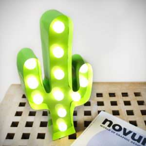 Idea regalo Lampada LED Cactus