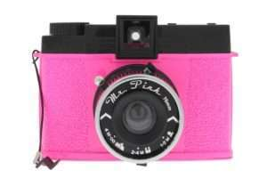 Idea regalo Diana F+ Mr. Pink – Macchina fotografica Lomography – rosa