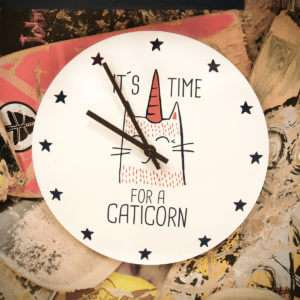 Regalo Orologio Caticorn