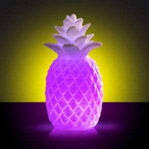 Regalo Lampada Colorata Ananas