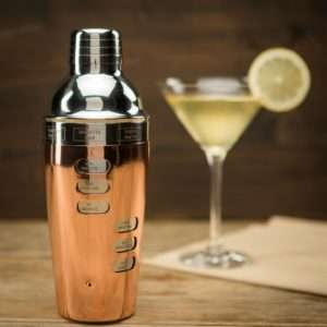 Regalo Cocktail Shaker Design con Ricette