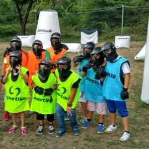 Idea regalo Compleanno con partita a Paintball per bambini – Salerno