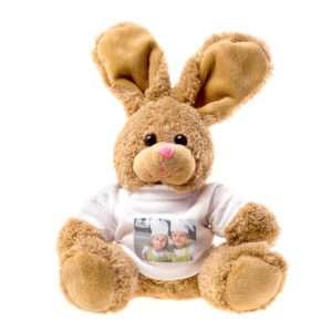 Idea regalo Coniglio portafoto in peluche