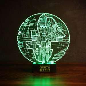 Regalo Lampada Star Wars Morte Nera con effetto 3D