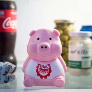 Regalo Allarme Frigo Diet Piggy