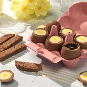 Regalo Uova di Cioccolato Ripiene