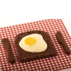Regalo Pancetta e uova di cioccolata