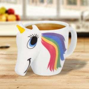 Regalo Tazza Unicorno cambia colore