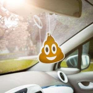 Regalo Emoji Poop – deodorante per auto