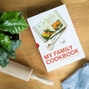 Regalo Libro di Ricette  My Family Cookbook