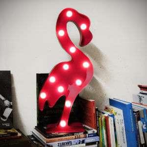 Regalo Lampada LED Fenicottero