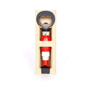 Idea regalo Apribottiglie Calciatore in rosso e bianco