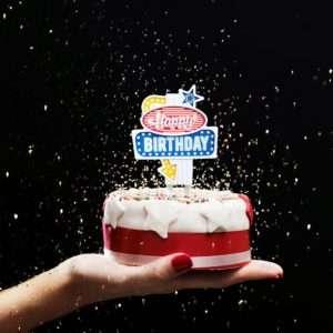 Idea regalo Insegna LED per Torte di Compleanno Las Vegas