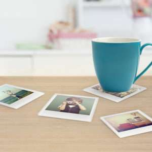 Idea regalo Sottobicchieri personalizzati con foto