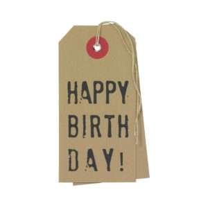 Idea regalo Bigliettino di auguri Happy Birthday