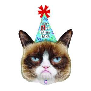 Idea regalo Palloncino ad elio Grumpy Cat – Birthday