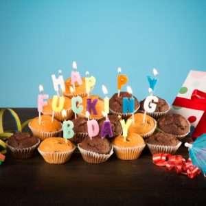 Idea regalo Candeline Happy Fucking Birthday