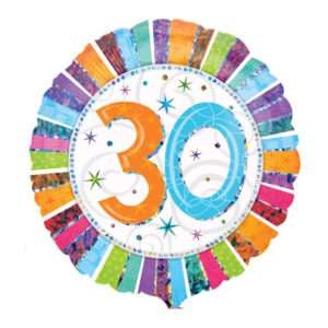 Idea regalo Palloncino a elio 30simo Compleanno