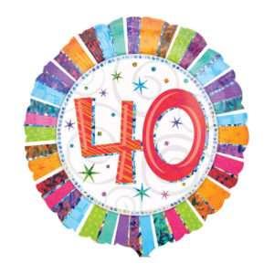Idea regalo Palloncino a elio 40esimo Compleanno