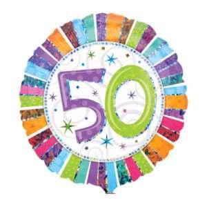 Idea regalo Palloncino a elio 50esimo Compleanno
