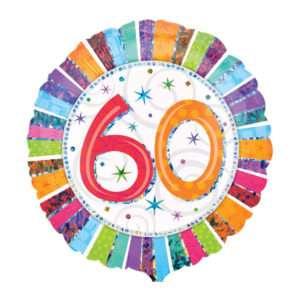 Idea regalo Palloncino a elio 60esimo Compleanno
