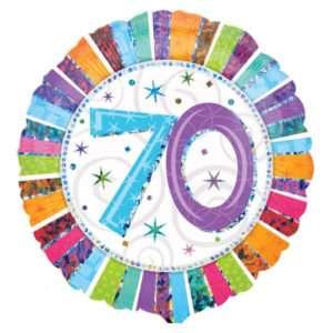 Idea regalo Palloncino a elio 70esimo Compleanno