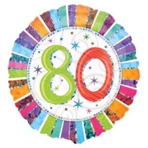 Idea regalo Palloncino a elio 80esimo Compleanno